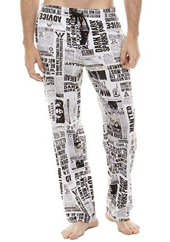 Harry Potter Undesirable #1 Print Lounge Pants Large (Harry Pants Potter)