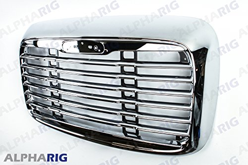NEW-2000-2008-FreightLiner-Columbia-Front-Grill-Chromed-OE-style-NO-bug-screen-G1