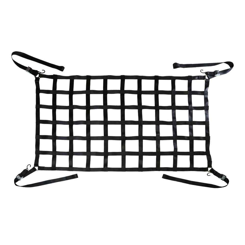 42 x 50 Extra Short Bed Truck Cargo Net with Cam Buckles /& S-Hooks US Cargo Control