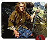 Entertainment movies highlander warriors swords celtic connor macleod chris mouse pad(10.2 x 8.3 x 0.12 inches)