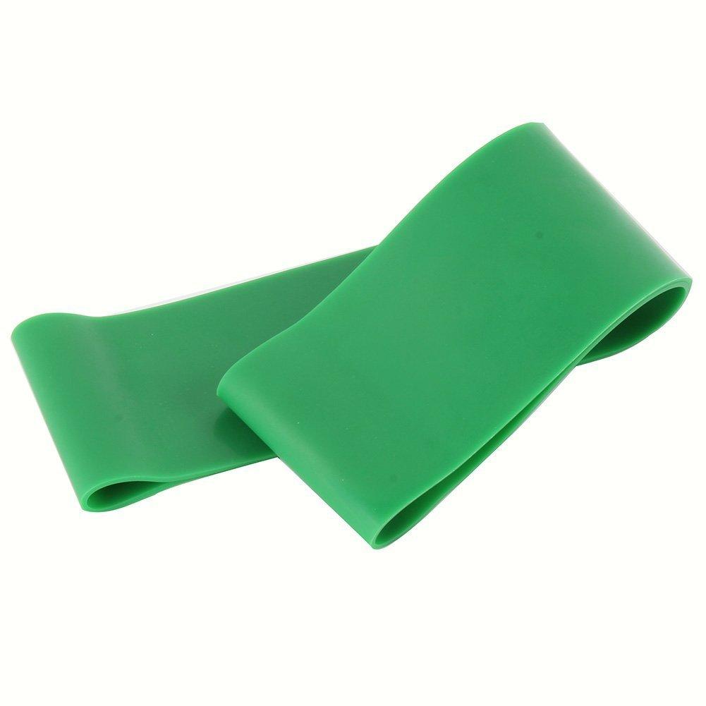 Fácil de usar Bandas de resistencia ejercicio Loop Band perfecto para Home Gym Fitness Yoga (Color : Green) ShireyStore