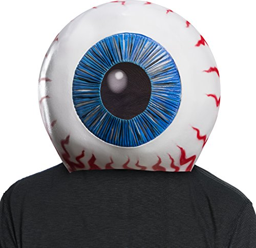 Eyeball Costumes For Halloween (Rubie's Men's Suicide Squad Eyeball Overhead Mask, as Shown, One)