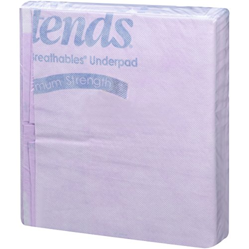 Attends Supersorb Maximum, Premium Underpads with Dry-Lock Technology, Adult Incontinence Care, 30''x36'' ,  60 Count by Attends (Image #2)