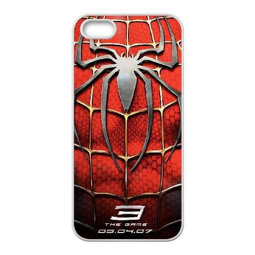 U7K74 Pictures Of Spiderman G2Q3OX coque iPhone 5 5s cellulaire cas de téléphone couvercle coque blanche SE4WPD2ML
