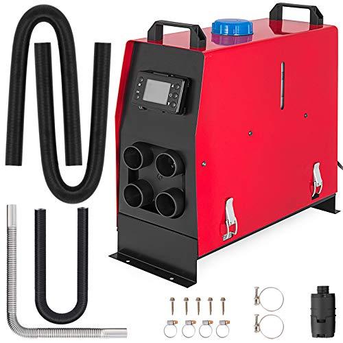 Happybuy 5KW Diesel Air Heater for RV Bus Motorhome Boat Car (Air Diesel Heater 12V 5KW 5000W 4Holes LCD -