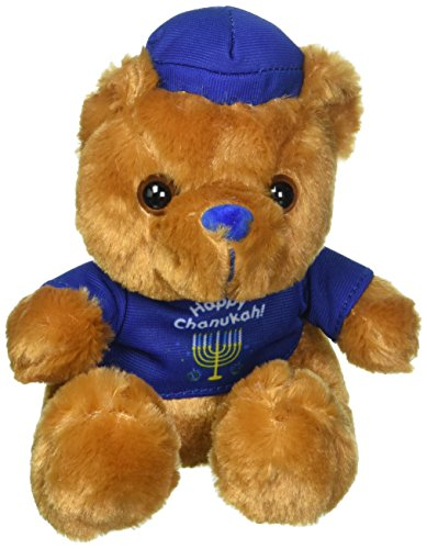 Rite Lite LTD Chanukah Teddy Bear - 1/pkg (Hanukkah Plush)