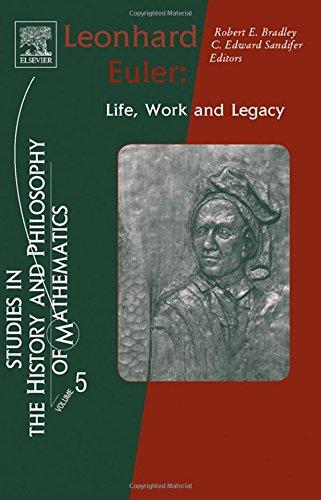 Leonhard Euler: Life, Work and Legacy
