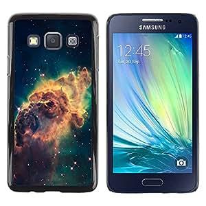 Smartphone Rígido Protección única Imagen Carcasa Funda Tapa Skin Case Para Samsung Galaxy A3 SM-A300 Beautiful Space Galaxy / STRONG