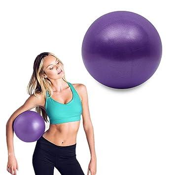 NICVERO - Pelota de yoga de 25 cm, mini pelota de ejercicio ...
