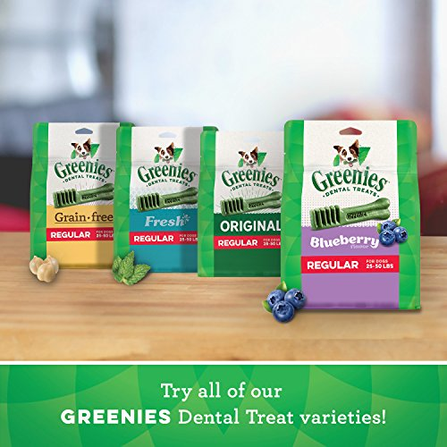 GREENIES Regular Variety Pack with 27 oz. Original and 27 oz. Fresh Dental Dog Treats