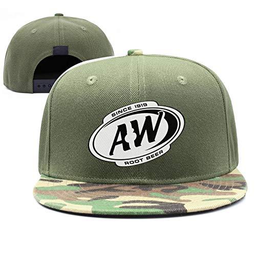 (Unisex Women's Vintage Baseball Cap A&W Root Beer Since 1919 Plain Stretch Cotton Trucker Dad Hat)