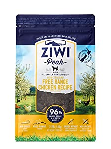 Ziwi Peak Air-Dried Free-Range Chicken For Dogs,2.2lb