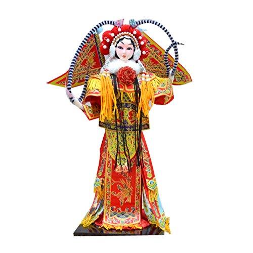 Panda Superstore Beijing Opera Decoration Chinese Style Handicrafts Great Gift Creative (Chinese Opera Dolls)