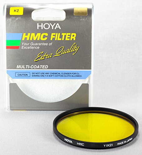 Hoya HMC 82mm Yellow K2 Multi-Coated B+W Filter - Made in Ja
