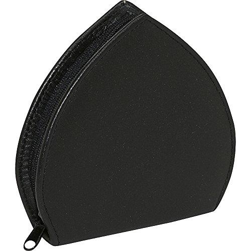 Budd Leather 7pc Women's Heart Shaped Manicure Set (Black) by Budd Leather