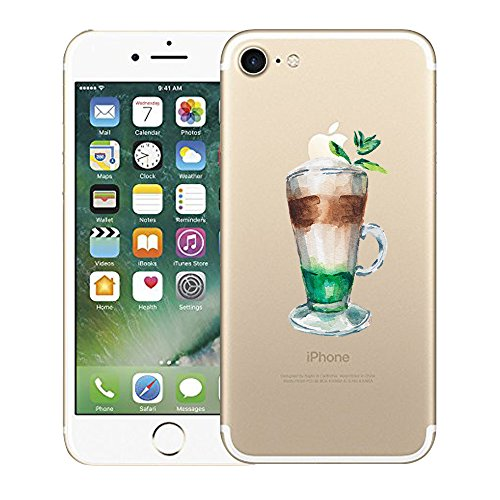"iPhone 7 Funda, Vanki® Suave TPU Funda Adorable Parachoques Case Cover Carcasa Para iPhone 7 (4.7"") 2017 3"