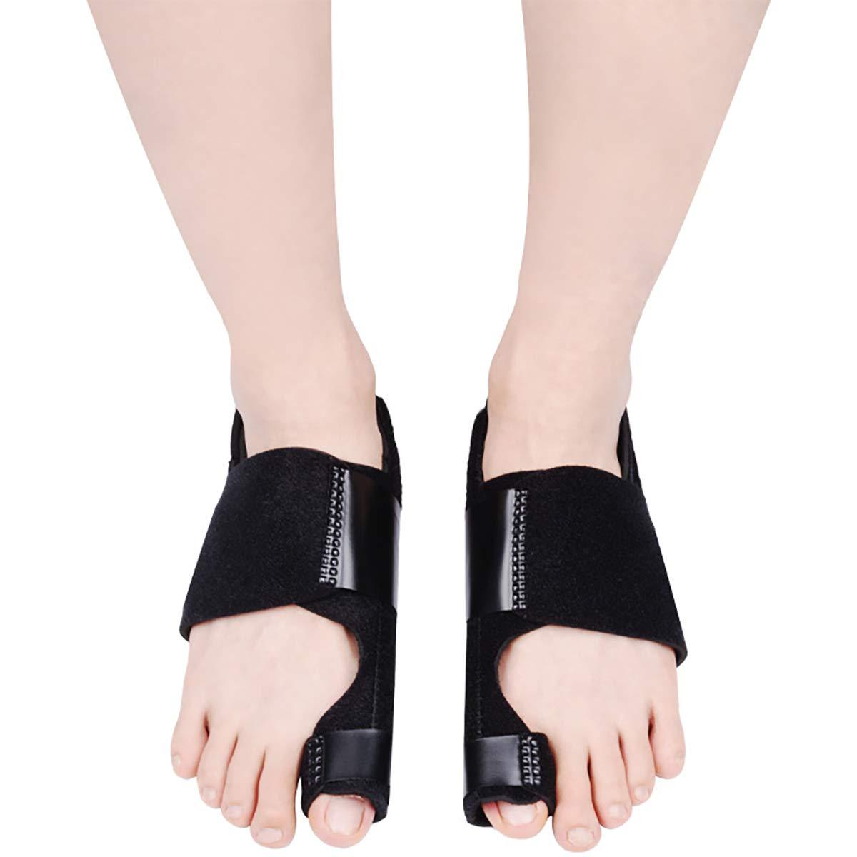 Hedume 2 Pack Bunion Corrector with Orthopedic Bunion Splint, Hallux Valgus Correction, Big Toe Straightener, Big Toe Separator Pain Relief, Day Night Support: Industrial & Scientific