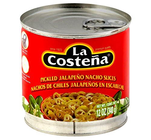 alapeno Pepper Nacho Slices (Pack of 3) 12 oz Cans ()