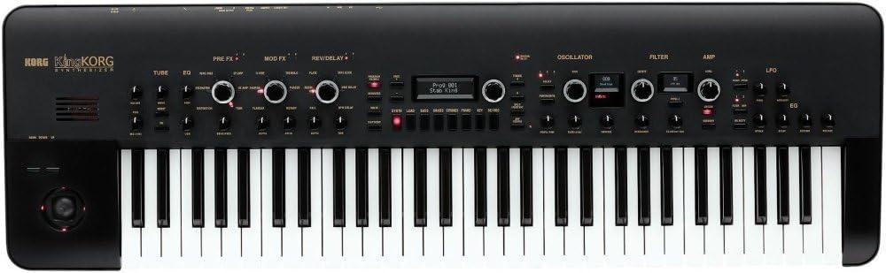 Korg KingKorg 61 - Key Analog Modeling Synthesizer in Black (KINGKORGBK)