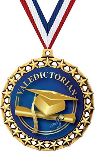 卒業メダル 2 1/2インチ ギャラクシースター卒業 ヴァレディクトリアンメダル 素晴らしいヴァレディクトリアン賞