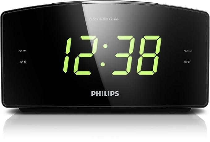 1 opinioni per Philips AJ3400/05 radio Orologio Nero