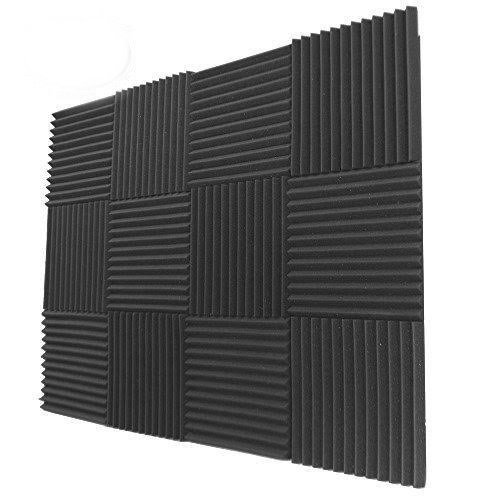 12 Pack- Acoustic Panels Studio Foam Wedges 1' X 12' X 12'