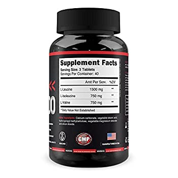 Monster Bcaa 3000 - 120 Tablets - Powerfoods - Concentrated Aminoacid For Muscle Recovery 2