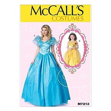 McCall \'s Damen und Mädchen Schnittmuster 7213 Prinzessin Ballkleid ...