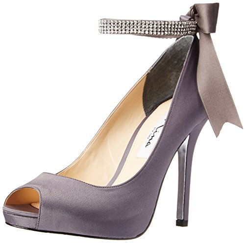 - Nina Women's Karen-LS Dress Pump,Steel,8 M US