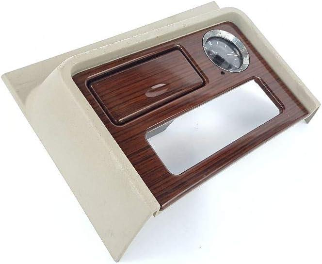 Clock Bezel Trim Wood Grain 15179651 Fits 2003 Chevy Escalade