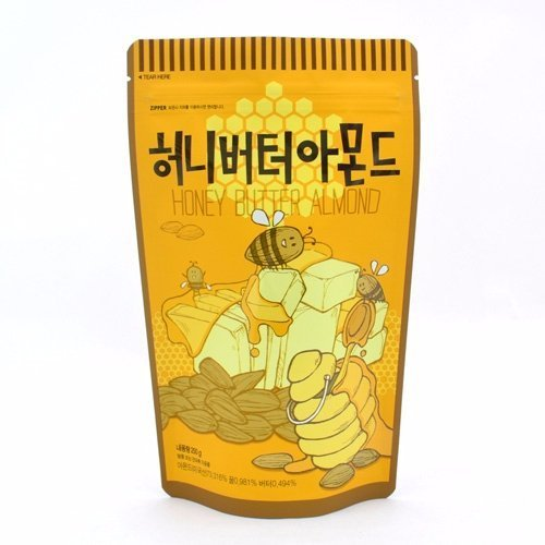 (Honey Butter Almond 250g by Gilim)