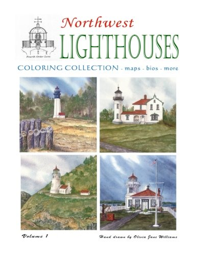 Northwest Lighthouse Coloring Collection