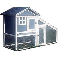 FeelGoodUK Bunny ARK - Hybrid - Doppel Tier Kaninchenstall Meerschweinchen Haus Cage Pen Startseite (RH10)