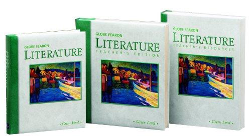 Globe Fearon Literature: Green Level, Student Editions