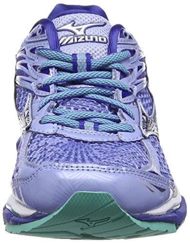 Mizuno Wave Enigma 6 (W), Zapatillas de Running para Mujer Azul (Brunnera Blue/mazarine Blue/turquoise)