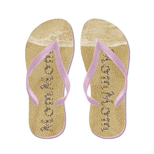 Cafepress Mommom Zeeschelpen - Flip Flops, Grappige String Sandalen, Strand Sandalen Roze
