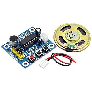 Refaxi ISD1820 Sound Voice Recording Playback Module with Micro Sound Audio Speakers DIY Robot