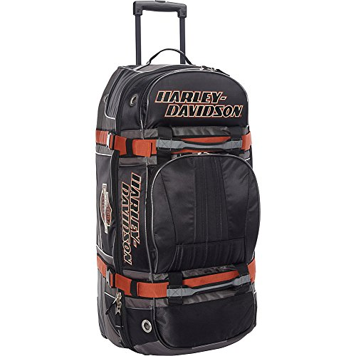 Harley Davidson 33'' Wheeled Equipment Duffel, Black by Harley-Davidson