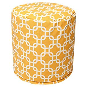 Amazon.com: Majestic Home Goods Enlaces Pouf, pequeño ...