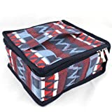Hytek Gear - Essential Oil Carrying Case - Holds 30 Bottles 5ml - 15ml - Perfect for Traveling with Oils! Multiple Colors! (Red/Blue) by Hytek Gear