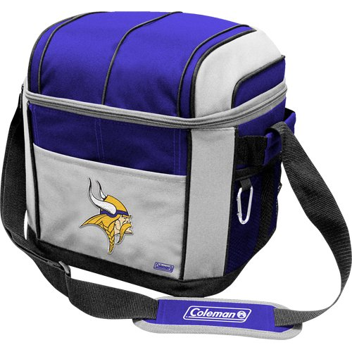 NFL Minnesota Vikings 24 Can Soft Sided Carry Coleman Cooler (Nfl 24 Can Cooler compare prices)