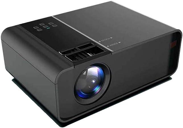 Opinión sobre XIAOYUE Mini Proyector, Proyector de Bolsillo Portátil, Resolución de 1080p, Compatible con AV/USB/SD/Tarjeta/HDMI/Teléfono Móvil/Computadora Portátil/Tableta/Proyector Inalámbrico de Entret
