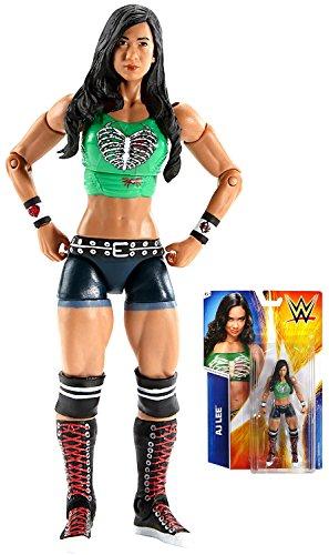 "AJ Lee Superstar #53 WWE Wrestling Action Figure Diva 6"" IN STOCK"