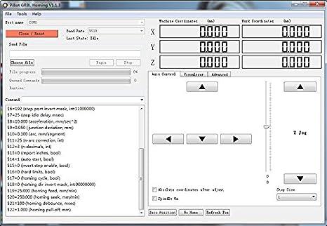Nadalan GRBL Benbox USB Port Laser Engraving Machine Control