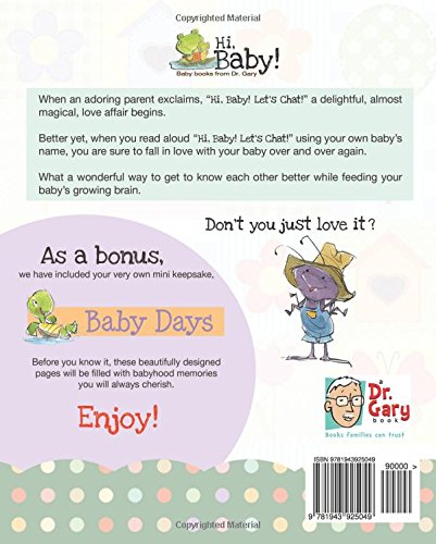 Hi, Baby! Lets Chat!: Brain food for your baby (Volume 1 ...