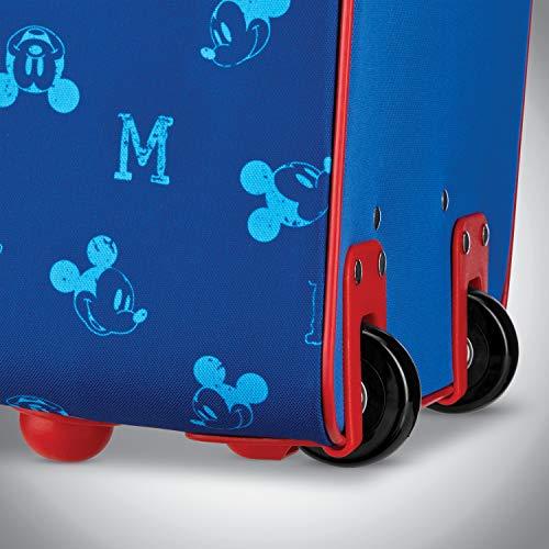 American Tourister Disney Kids Mickey Mouse Softside Upright, 18 Inch, 2