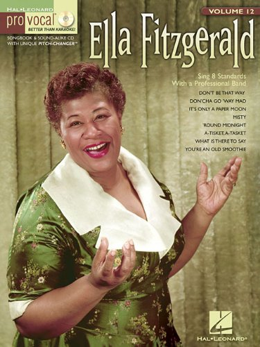 Vocal Jazz Music Sheet (Ella Fitzgerald for Female Singers Pro-vocal Vol.12 Bk/Cd (Pro Vocal Women's Edition))