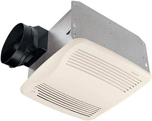 Broan QTXEN110S Ultra Silent Humidity Sensing Ventilation Fan, 6 Ducting 110 CFM