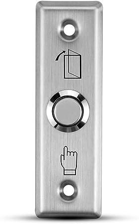 Bouton Poussoir de Porte Serrure Electrique Porte pour Contrôle d/'Accès