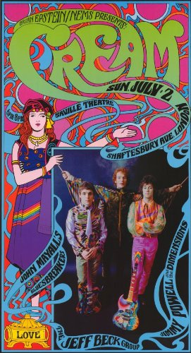 Cream Music Poster - Style A